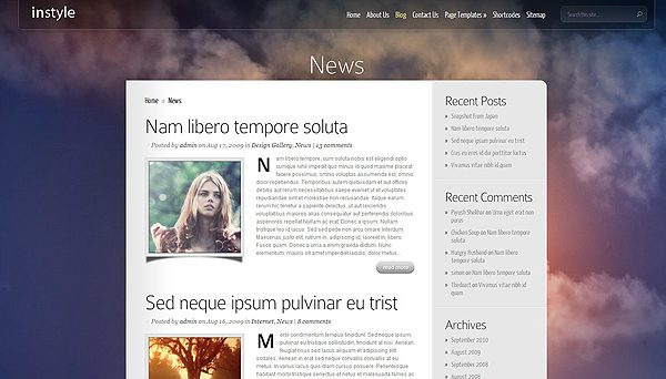 Elegant Themes Instyle Wordpress Theme V4 0 7