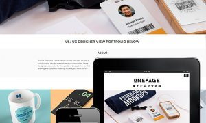 one-page-theme-responsive