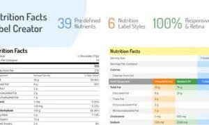 nutrition-facts-label-creator-wordpress-plugin