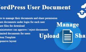 wordpress-user-document